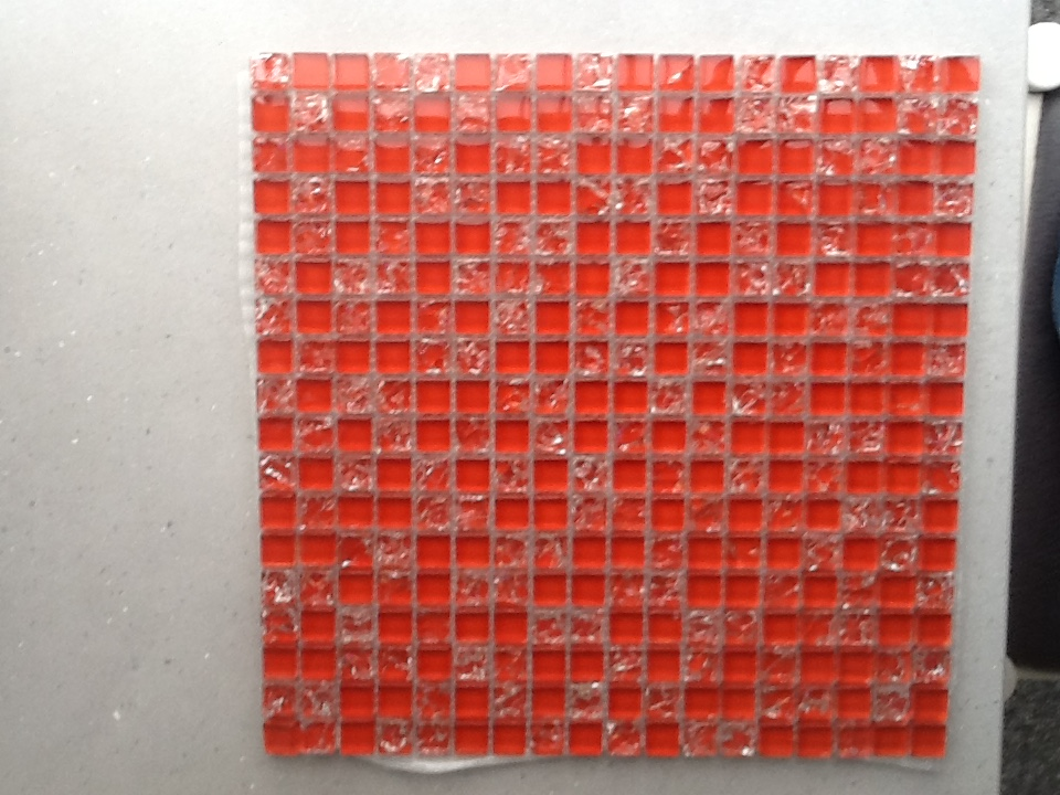 For sale: Glass mosaic wall tiles