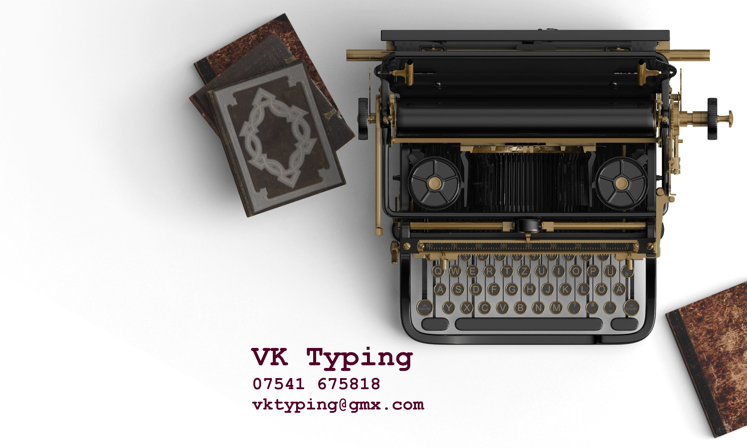 VK Typing in Norwich: address, telephone number and opening