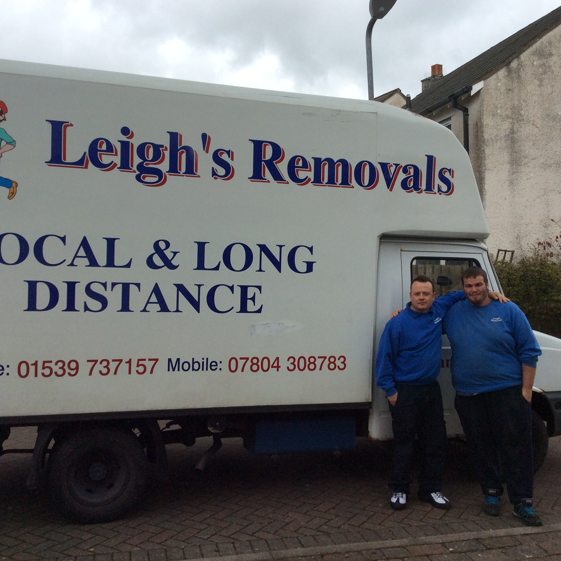 Leigh 39 S Removals In Kendal Address Telephone Number And Opening Hours And Times Man With A