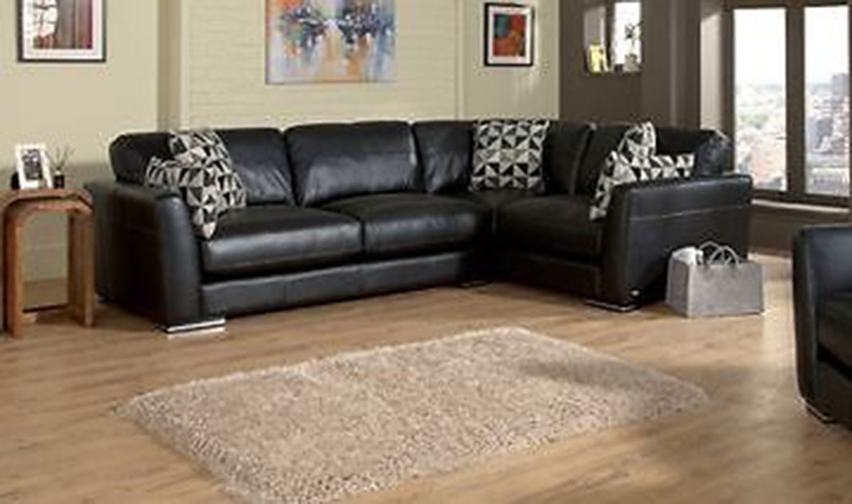 For sale: Brand New Sisi Luxury Italian Leather Corner Sofa - Buy ...