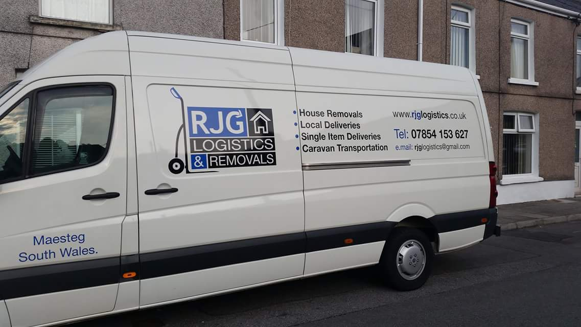 RJG REMOVALS in Maesteg: address, telephone number and