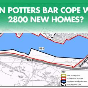 Have your say in a massive  housing development in Potters Bar