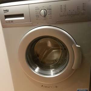 For sale: Beko Washing Machine, WM5122S, 5KG Load, with 1200rpm - Silver - £120