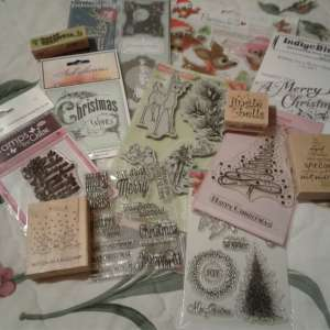 For sale: Xmas theme Stamps - £5