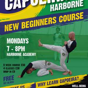 New Beginners Capoeira Class Starting 14/10/19 - Movement, Martial Arts, music