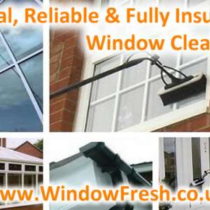 Window Fresh - Window / Gutter / Conservatory / Solar Panel Cleaning Oswestry & Surrounding Areas