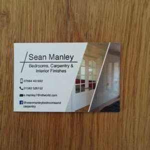 Sean Manley Bedrooms, carpentry and interior finishes