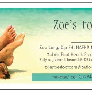 Zoes toes foot care