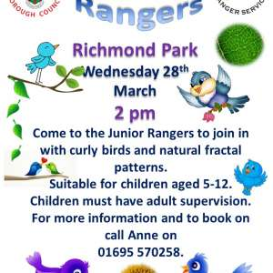 Spring watch at Richmond Park, Burscough 28th March, 2018- 2pm