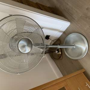 For sale: 16 Inch Aliminuim Pedestal Fan