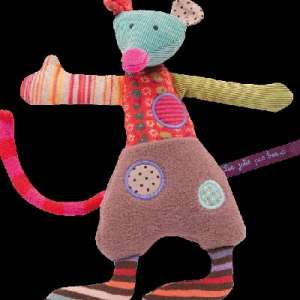 Lost: Patchwork mouse soft toy