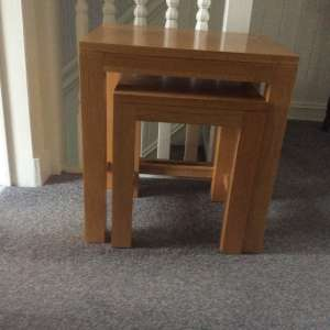 For sale: Nest of 3 Tables - £80