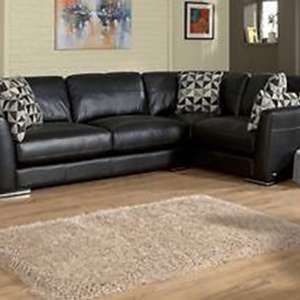 For sale: Brand New Sisi Luxury Italian Leather Corner Sofa