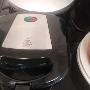 For sale: Russel hobs breadmaker, sandwich toaster, and carl lewis grill