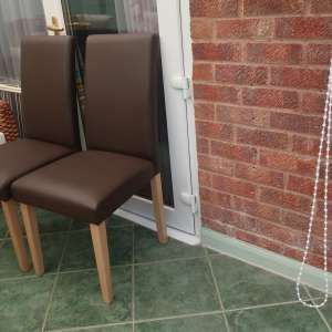 For sale: 4 Dining Chairs for sale  £10 each