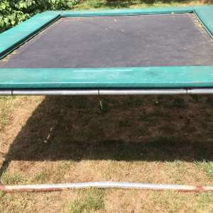 For sale: SuperTramp PRINCE 18 Rectangular trampoline 8x6 feet - £50