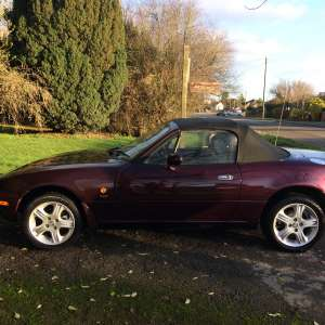 For sale: Mazda MX-5 Convertible (1990 - 1998) NA 1.8 Merlot Limited Edition 2dr