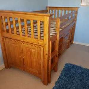 For sale: Pine Barcelona Sleep Station/Cabin Bed