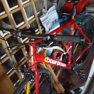 For sale: Red Chris Boardman Road Bike - £275