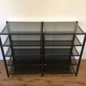 For sale: 10 shelf Hi-fi separates stand - £20