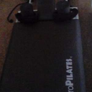 For sale: Aero Pilates Bench with Rebounder and DVD - £100