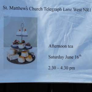 Afternoon tea 16th June