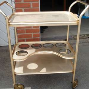 For sale: Retro (1956) all weather Hostess trolly. - £35