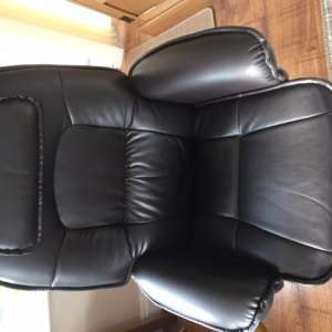 For sale: Recliner Chair & Stool