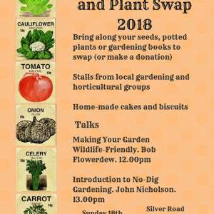 Norwich Seed Swap on Sunday February 18th