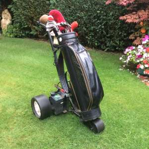 For sale: Golf Clubs and electrictrolley