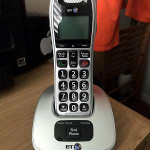 For sale: BT cordless home phone - £5