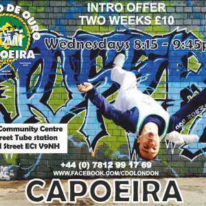 Cordao de Ouro Capoeira classes in Islington/Old Street