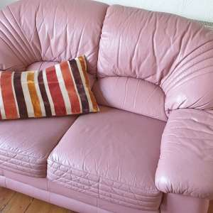 For sale: 2 x 2 seater leather sofas