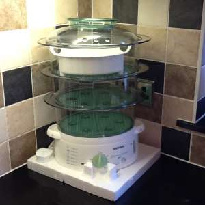 For sale: BRAND NEW TEFAL STEAM CUISINE EASY-STORE 3 TIER STEAMER - £25