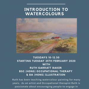 New six week beginners watercolour course