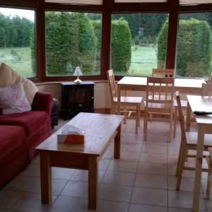 For sale: Pine tables and four chairs sets - £30