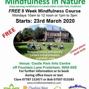FREE Mindfulness in Nature Courses at Castle Park