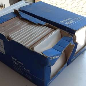 For sale: WICKES White Wall Tiles - £3