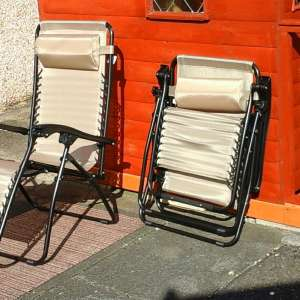 For sale: Royal Gravity Reclining Chairs x2